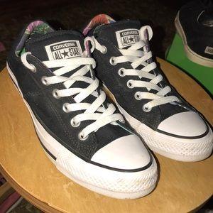 Converse Padded Tongue & Heel Shoes (7)